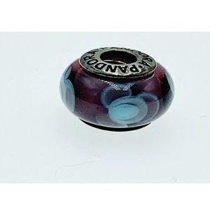 Pandora Murano Glass Flower For You Bead Charm